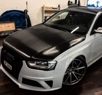 Audi RS6 Car Wrapping Stuttgart quadrat